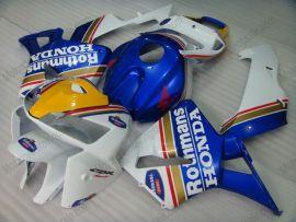 Honda CBR 600RR F5 2005-2006 Carénage ABS Injection - Rothmans - bleu/blanc