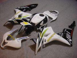 Honda CBR 600RR F5 2007-2008 Carénage ABS Injection - HANN spree - blanc/noir