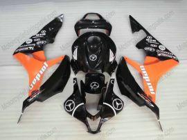 Honda CBR 600RR F5 2007-2008 Carénage ABS Injection - Jordan - noir/orange