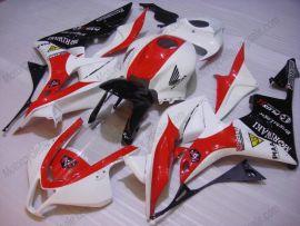 Honda CBR 600RR F5 2007-2008 Carénage ABS Injection - M Racing  - blanc/noir/rouge