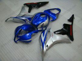Honda CBR 600RR F5 2007-2008 Carénage ABS Injection - autres - bleu/argent/noir