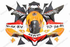 Honda CBR 600RR F5 2007-2008 Carénage ABS Injection - Repsol  - orange/noir