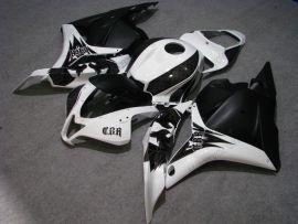 Honda CBR 600RR F5 2009-2012 Carénage ABS Injection - autres - blanc/noir