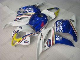 Honda CBR 600RR F5 2009-2012 Carénage ABS Injection - Rothmans - bleu/blanc