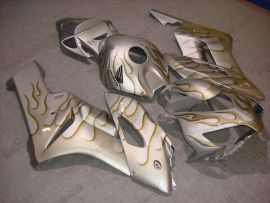 Honda CBR1000RR 2004-2005 Carénage ABS Injection - Flame brun - argent
