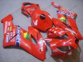 Honda CBR1000RR 2004-2005 Carénage ABS Injection - Lee - rouge