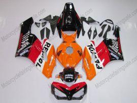 Honda CBR1000RR 2004-2005 Carénage ABS Injection - Repsol - noir/orange/rouge