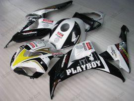 Honda CBR1000RR 2006-2007 Carénage ABS Injection - PlayBoy - noir/blanc