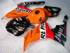 Honda CBR1000RR 2006-2007 Carénage ABS Injection - Repsol - orange/noir