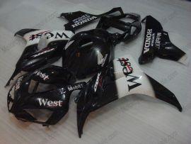 Honda CBR1000RR 2006-2007 Carénage ABS Injection - West - noir