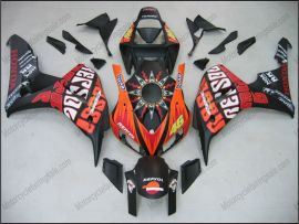 Honda CBR1000RR 2006-2007 Carénage ABS Injection - Rossi - Couleur