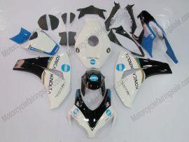 Honda CBR1000RR 2008-2011 Carénage ABS Injection - Konica Minolta - blanc/noir
