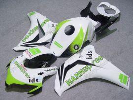 Honda CBR1000RR 2008-2011 Carénage ABS Injection - HANN Spree - blanc/vert