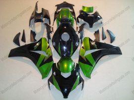Honda CBR1000RR 2008-2011 Carénage ABS Injection - autres - vert/noir
