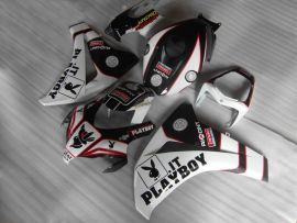 Honda CBR1000RR 2008-2011 Carénage ABS Injection - PlayBoy - blanc/noir