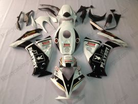 Honda CBR 1000RR 2012-2016 Carénage ABS Injection - PlayBoy - blanc/noir