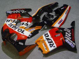Honda CBR250RR MC19 1988-1989 Carénage ABS Injection - Repsol - orange/noir/rouge