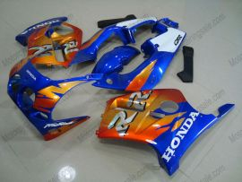 Honda CBR250RR MC19 1988-1989 Carénage ABS Injection - Fireblade - bleu/orange
