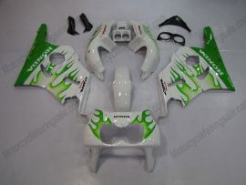 Honda CBR400RR NC29 1990-1998 Carénage ABS - Flame vert- blanc