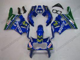 Honda CBR400RR NC29 1990-1998 Carénage ABS - Factory Style - bleu
