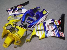 Honda CBR400RR NC29 1990-1998 Carénage ABS - Nastro Azzurro - jaune/bleu/blanc
