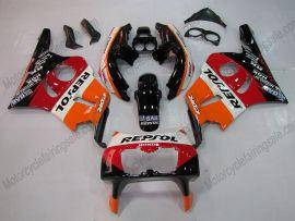 Honda CBR400RR NC29 1990-1998 Carénage ABS - Repsol - orange/noir/rouge