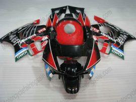 Honda CBR600 F2 1991-1994 Carénage ABS - JOMO - noir/rouge/blanc