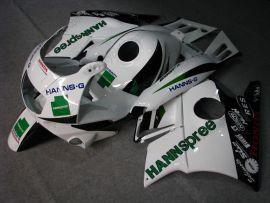 Honda CBR600 F2 1991-1994 Carénage ABS - HANN Spree - blanc/noir