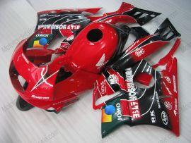Honda CBR600 F2 1991-1994 Carénage ABS - JOMO - rouge/noir