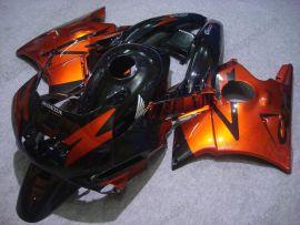 Honda CBR600 F2 1991-1994 Carénage ABS - autres - orange/noir