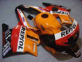 Honda CBR600 F2 1991-1994 Carénage ABS - Repsol - orange/noir/rouge
