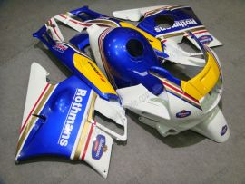 Honda CBR600 F2 1991-1994 Carénage ABS - Rothmans - bleu/jaune/blanc