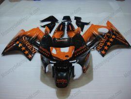 Honda CBR600 F3 1995-1996 Carénage ABS Injection - SevenStars - orange/noir