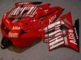 Honda CBR600 F3 1997-1998 Carénage ABS Injection - Alice - rouge/blanc