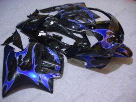 Honda CBR600 F3 1997-1998 Carénage ABS Injection - Flame bleu - noir