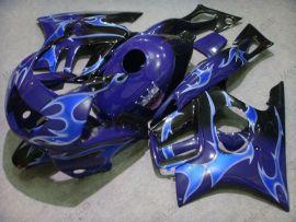 Honda CBR600 F3 1997-1998 Carénage ABS Injection - Flame bleu - bleu/noir
