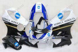 Honda CBR600 F4 1999-2000 Carénage ABS Injection - Konica Minolta - bleu/noir/blanc
