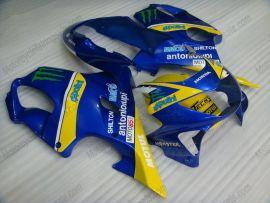 Honda CBR600 F4 1999-2000 Carénage ABS Injection - Monster - bleu/jaune