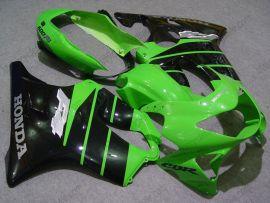 Honda CBR600 F4 1999-2000 Carénage ABS Injection - autres - vert/noir