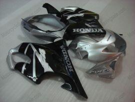 Honda CBR600 F4 1999-2000 Carénage ABS Injection - autres - argent/noir