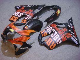Honda CBR600 F4 1999-2000 Carénage ABS Injection - Repsol - orange/noir