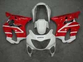 Honda CBR600 F4 1999-2000 Carénage ABS Injection - autres - blanc/rouge