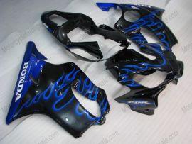 Honda CBR600 F4i 2001-2003 Carénage ABS Injection - Flame bleu - noir
