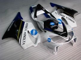 Honda CBR600 F4i 2001-2003 Carénage ABS Injection - Konica Minolta - blanc/noir/bleu