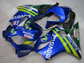 Honda CBR600 F4i 2001-2003 Carénage ABS Injection - Movistar - bleu
