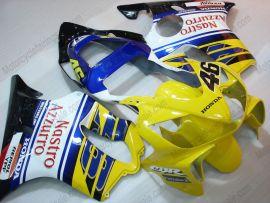 Honda CBR600 F4i 2001-2003 Carénage ABS Injection - Nastro Azzurro - jaune/bleu/blanc
