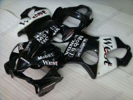Honda CBR600 F4i 2001-2003 Carénage ABS Injection - West - noir/blanc