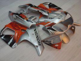 Honda CBR900RR 893 1996-1997 Carénage ABS - Fireblade - argent/orange