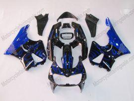 Honda CBR900RR 893 1996-1997 Carénage ABS - Flame bleu - noir