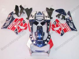 Honda CBR900RR 919 1998-1999 Carénage ABS - Castrol - bleu/rouge